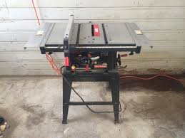 10 Craftsman Table Saw 10