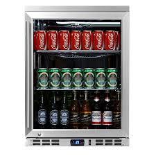 amazon com kingsbottle 140 can 1 door under counter beverage