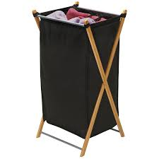 Pretty Laundry Hampers by Amazon Com Household Essentials 6540 1 Collapsible Bamboo X Frame