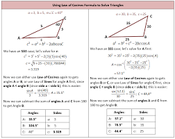 law of sines and cosines and areas of triangles she loves math