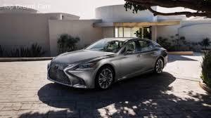 lexus hydrogen car price 2018 lexus ls500h hybrid review youtube