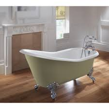 ritz slipper freestanding bath 1540mm u0026 imperial feet with no tap
