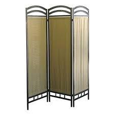 Room Divider Screens Amazon - amazon com 3 panel fabric metal screen room divider kitchen u0026 dining