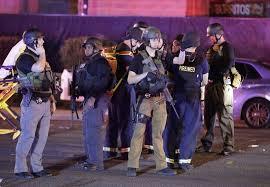 mass shooting on las vegas strip casino at an outdoor music festival