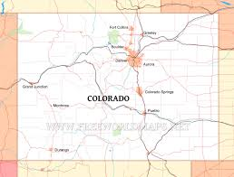 Map Of Denver Colorado by Colorado Maps