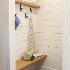 hooks on wall bench design ideas
