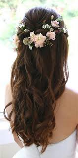 wedding hair half up half wedding hair