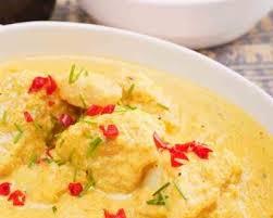 cuisiner avec du lait de coco recette mijoté de poisson curry et lait de coco