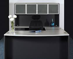 L Shaped Black Glass Desk by U Shaped Desk With Hutch In The Kitchen Babytimeexpo Furniture