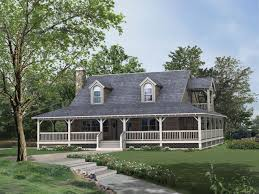 house plans wrap around porch front southern plantation country