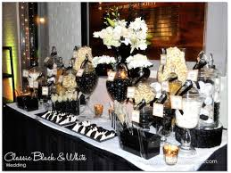 inspirations black and white wedding decorations with classic