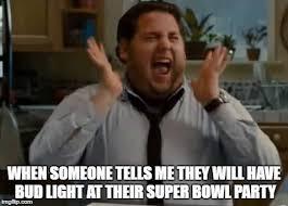 Bud Light Meme - super bowl bud light excitement beer humor pinterest bud light