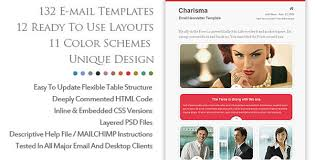 new responsive html newsletter email templates u2013 ewebdesign