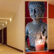 online get cheap 3 piece wall decor art buddha aliexpress com