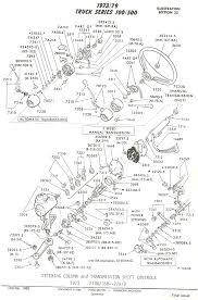Ford Ranger Truck Parts - flashback f100 u0026 39 s steering column parts u0026 all associated