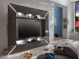 Wohnzimmerschrank Beleuchtung Wohnwand Mediawand Anbauwand Wohnzimmerschrank Schrankwand