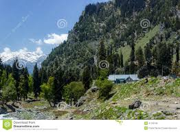 Living In The Mountains by Living In The Himalayas House In Kashmir Stock Photo Image