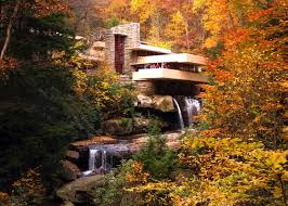 frank lloyd wright waterfall architect frank lloyd wright s fallingwater purple clover
