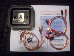 earcandy 4x10 4x12 guitar speaker cab wiring harness 8 16 reverb