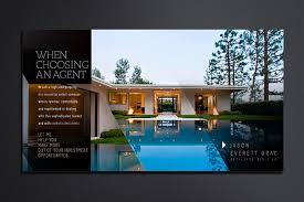 high end real estate agent direct mail postcardsopus