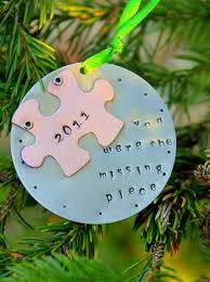 puzzle ornament adoption ornament ornament