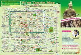 map of xi an western internationa travel
