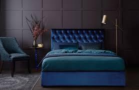 upholstered bed base heatherly design