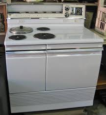 Ge Electric Cooktops Vintage 1950s Hotpoint Automatic Electric Range My Retro Food