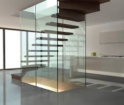 stairs treppen glass wall staircase mistral glass stairs from siller treppen