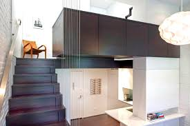 clever 425 sq ft manhattan micro loft stacks upwards for more