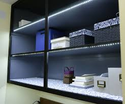 led strip light under cabinet led strip lights for display cabinets edgarpoe net