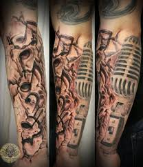 Drummer Tattoo Ideas Music Drums Note Micro Tat By 2face Tattoo On Deviantart Drum