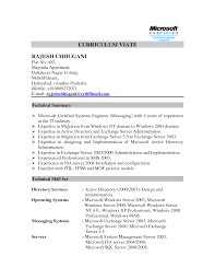 systems engineering resume ccna resume examples