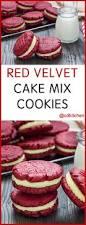 red velvet cake mix cookies recipe cdkitchen com