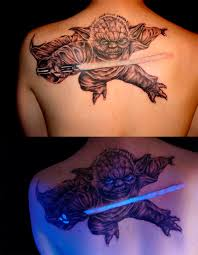 18 stunning black light responsive tattoos mental floss