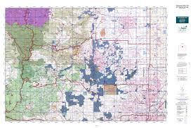 Map Of Denver Colorado Colorado Gmu 29 Map Mytopo