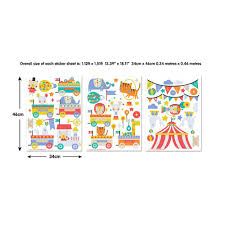 walltastic circus wall stickers the home depot