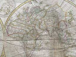 Correct World Map by Herman Moll A New U0026 Correct Map Of The World In The World