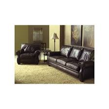 Leather Blend Sofa Sectional By American Leather