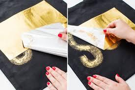 forget gold leaf u2014 gold transfer foil is the stuff diy dreams are