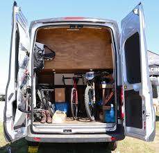 ford transit rv lauren gregg u0027s custom ford transit van pinkbike