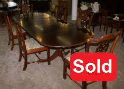 Antique Mahogany Dining Room Set by Antique Dining Room Table And Chairs Mahogany Dining Room Furniture