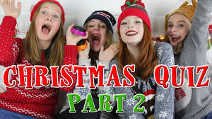 the big fat christmas quiz part 2 funny video nilipod youtube