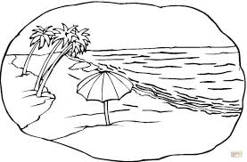 teenage coloring pages printable beach scene coloring pages printable holidays free themed theme
