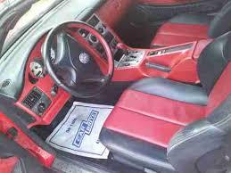 Slk230 Interior Buy Used Red Slk 230 Kompressor Sport Xenon New Tires Cd Changer