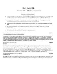 Liaison Resume Sample 10 Best November First Friday National Medical Science Liaison