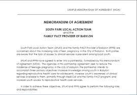 doc 575709 memorandum of agreement template u2013 memorandum of
