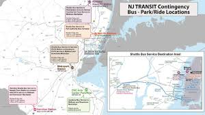 New York Penn Station Map New Jersey Transit What You Need To Know If There U0027s A Strike