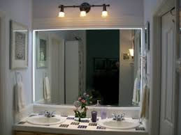 Bathroom Mirror With Lights by Mirror Design Ideas Contemporary Yellow Bathroom Mirrors With Led