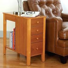 Chair Side Tables With Storage Small Chairside Table Oak Tables Black Image Shelves Chair